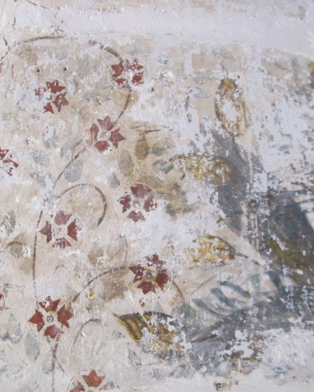 Fresco off staircase