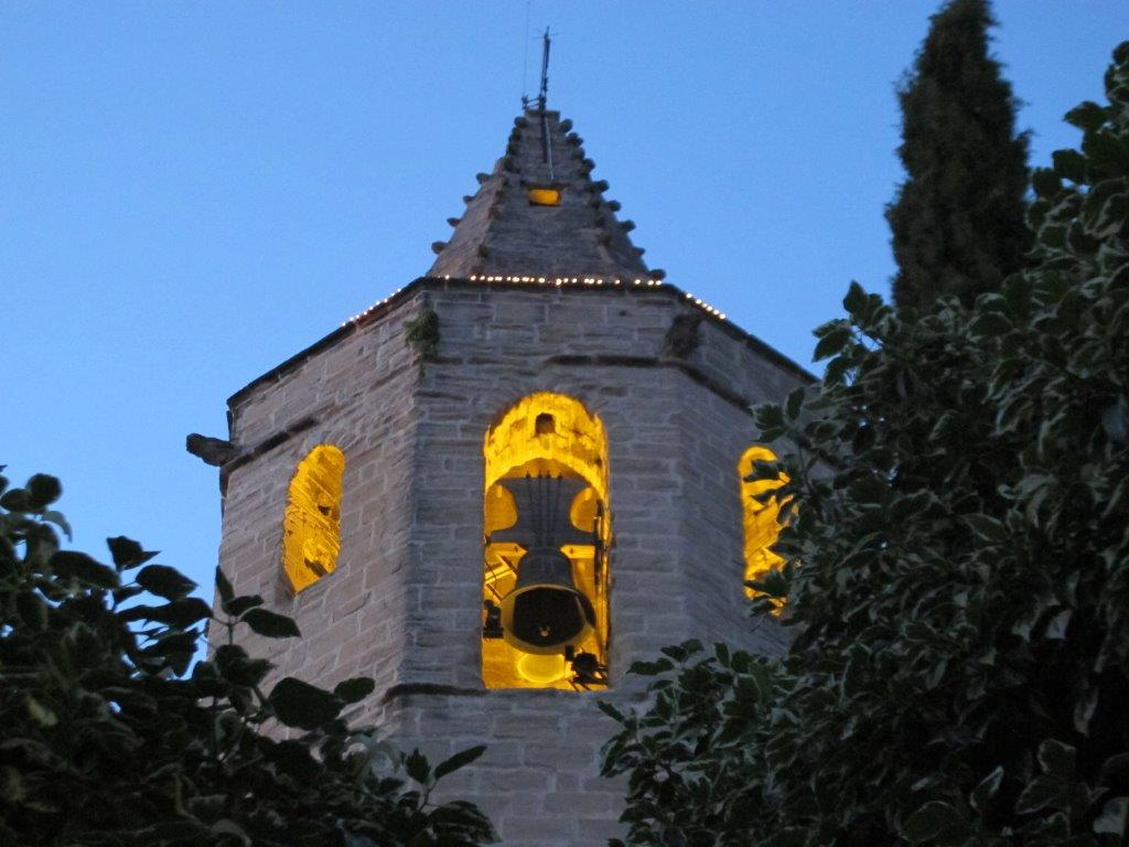 tower at night