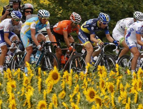 Tour de France comes to Mazan Provence 14th July 2016